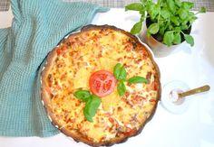 tacopaj-basta-godaste-kramig Vegetable Pizza, Quiche, Tacos, Breakfast, Recipes, Food, Wine, Morning Coffee, Recipies