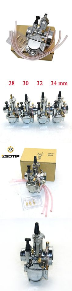 Free shipping ZSDTRP 28 30 32 34mm silver color Pwk model motorcycle Carburetor carburator used for motocross  ATV UTV