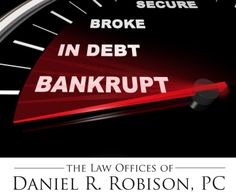 Not sure what to do next? Bankruptcy was designed to help individuals obtain a Fresh Start. Daniel R. Robison is Southern Utah's experienced local St George Bankruptcy Law Attorney.    http://www.robisonlaw.net/