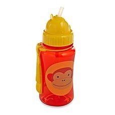 image of SKIP*HOP® Zoo 12 oz. Monkey Straw Bottle