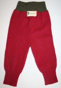 Repurposed baby pants