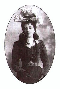 """Canadian author of """"Anne of Green Gables"""" Lucy Maud Montgomery, ca. 1897.  #CDNGetaway"""