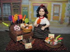 vendedora de dulces mexicanos/ mexican candies seller