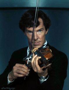 Sherlock violin hypnotic