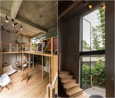 """MANADA Architectural Boundaries took a novel approach to interior design with a wooden """"prosthesis"""" in Mexico City. Tiny Apartments, Green Building, Tiny House, Flexibility, Innovation, Mexican, Dreams, Interior Design, Architecture"""