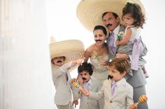 fun and easy photobooth props - would be great for a mexican wedding.    Too late, we just had the real mexicans!