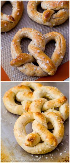 Soft pretzels yum!