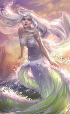 A lovely mermaid...