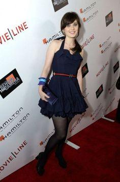 Blue Mini Dress – 2009 Hamilton Behind the Camera Awards