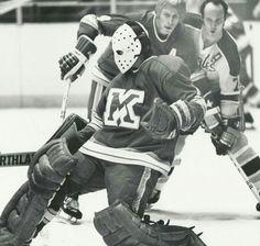 John Voss with Omaha Knights.