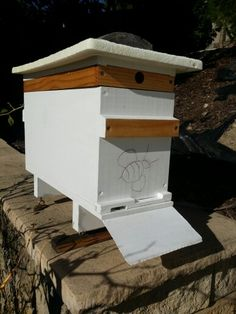 Our new nuc beehive split. See more photos and bee videos on our family friendly beekeeping blog - http://www.mahakobees.com/blog