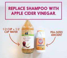 Stop using shampoo.