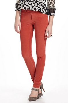 Pilcro Serif Cord Leggings #anthropologie