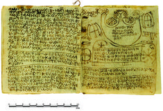 An Egyptian Handbook of Ritual Power (as researchers call it) has been deciphered revealing a series of invocations and spells. It includes love spells, exorcisms and a cure for black jaundice (a potentially fatal infection). Written in Coptic. Egyptian handbook reveals series of invocations and spells of Ritual Power.