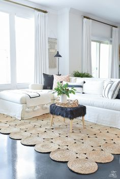 Best Living Room Rugs Elegant A Tale Two Rugs some the Best Natural Rugs Home Boho Living Room, Diy House Projects, Sewing Projects, Diy Home Decor On A Budget, Diy Carpet, Hall Carpet, Natural Rug, Room Rugs, Area Rugs