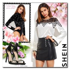 """""""SheIn 6 / XV"""" by selmamehic ❤ liked on Polyvore featuring WALL"""