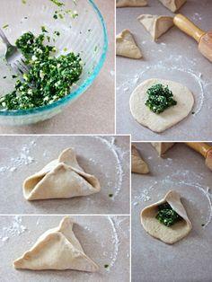 how to make fatayer sabanekh