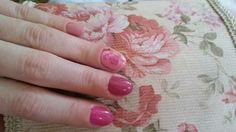 #spring #nail #pink #rose