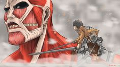 Attack on Titan by TheAngryAron