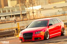 Audi A3 Wagon on BBS LMs. Wagons are officially cool again.