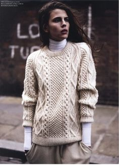 Purl on Pearl. (Source: lacooletchic, via tfknitwear)