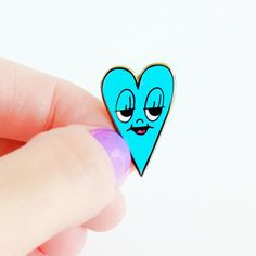 'Blue Heart' Pin