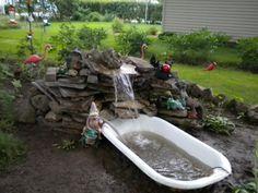1000 Images About Antique Bathtub Planter On Pinterest