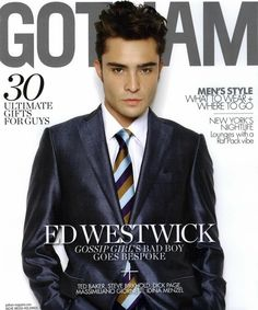 Chuck Bass / Ed Westwick / Gotham Magazine / Gossip Girl