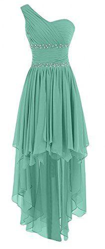 Olidress Women's High Low Chiffon Beading Prom Bridesmaid Dresses Homecoming Dresses Teal US4 Olidress http://www.amazon.com/dp/B01AC6BNOI/ref=cm_sw_r_pi_dp_2reQwb1DX13EB