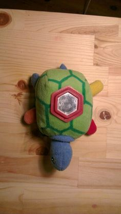 Tortoise toy for newborn