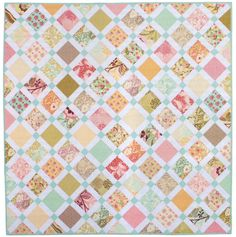 This is sew cute!  Lucky Charm Quilt PDF Sewing Pattern by aspoonfullofsugar on Etsy, $8.00