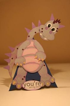 Dragon Pyramid Card by figaro - Cards and Paper Crafts at Splitcoaststampers