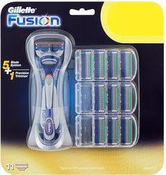 Gilletten varsiteriä, ei mitään heppoisia vaan kunnon tavaraa, kun on paksut partakarvat :D