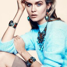 Women's Jewelry in Dannijo Spring-Summer 2013 Campaign (18)