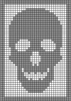I& got an early Halloween surprise for you, my peeps. Remember my skeleton antimacassar ? That Monster Crochet filet crochet classic? Skeleton Antimacassar Charts by MonsterCrochet on Etsy Monster Crochet New Charts Available From Head Toe The Skeleton co Filet Crochet, Graph Crochet, C2c Crochet, Tapestry Crochet, Crochet Stitches, Crochet Diagram, Crochet Skull Patterns, Loom Patterns, Henna Patterns