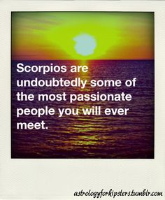 Interesting. Someone recently told me that I'm extremely passionate about everything! :)
