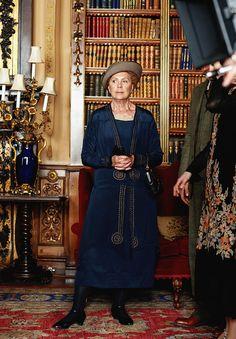 "Penelope Wilton as ""Isobel Crawley"" season V"
