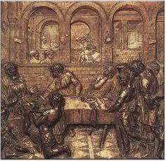 Donatello, Uczta Heroda
