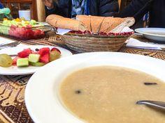 Quinoa & Rasin Soup- Peru  www.theroadlestraveled.com