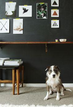 smitten studio // emma magazine ( what a sweetheart pup)