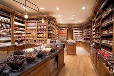 Interior de The Chocolate Line