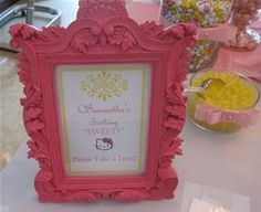 hello kitty 1st birthday party - Bing Images