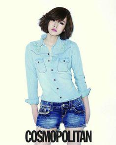Jo Yoon Hee - Cosmopolitan Magazine May Issue '13