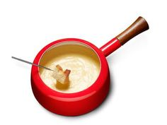 Food Network Magazine has the recipe and tips for the Perfect Fondue. Here's how to master the melting:  1. Use room-temperature cheese: Grate the cheese