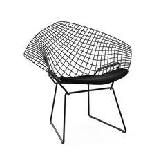 design icons: 7 modern chairs | harry bertoia, diamond and nice
