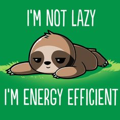 I'm Energy Efficient T-Shirt TeeTurtle