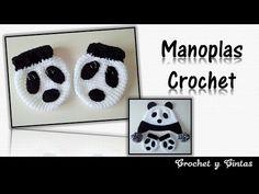 Manoplas minions (guantes) a crochet #tutorial DIY - YouTube