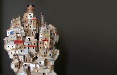 Favela – cardboard model