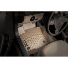 WeatherTech Custom Fit Front FloorLiner for Nissan Murano, Tan, Brown 2010 Gmc Yukon, Ford Expedition El, Lexus Lx470, Audi Q7, 2011 Honda Civic, Aston Martin Rapide, Car Interior Design, Luxury Interior, Buick Enclave