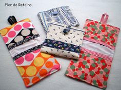 Sewing Art, Love Sewing, Sewing Crafts, Diy Bags Patterns, Sewing Patterns, Sanitary Napkin, Pouch Pattern, Small Sewing Projects, Cloth Pads